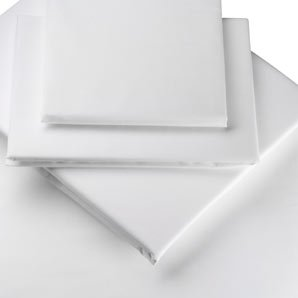 Flat sheet 500 thread counts queen size pure Egyptian cotton white