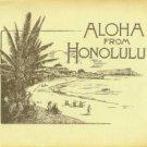 Aloha From Honolulu: Views Of Honolulu