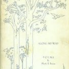 Broome, Myrtle B. Along My Way: Poems