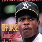 Henderson, Rickey and Shea, John. Off Base: Confessions Of A Thief