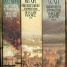 Foote, Shelby. The Civil War: A Narrative [3 Volume Boxed Set]