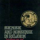 Stenson, Sten H. Sense And Nonsense In Religion...