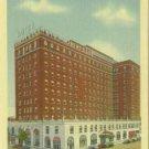 Linen Postcard. Hotel Robert E. Lee, Winston-Salem, N.C.
