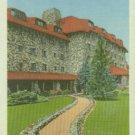 Linen Postcard. East Entrance, Grove Park Inn, Asheville, N.C.