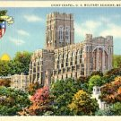 Linen Postcard. Cadet Chapel, U.S. Military Academy, West Point, N.Y.