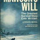 Bickel, Lennard. Mawson's Will: The Greatest Survival Story Ever Written