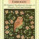 Whiteaker, Stafford. English Garden Embroidery: 80 Original Needlepoint Designs