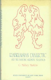 Masters, G. Mallary. Rabelaisian Dialectic And The Platonic-Hermetic Tradition