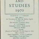 Humphreys, A. R. Essays And Studies, 1970 Being Volume Twenty-Three...
