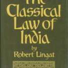 Lingat, Robert. The Classical Law Of India