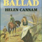 Cannam, Helen. The Last Ballad