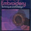 Gray, Jennifer. Machine Embroidery: Technique and Design