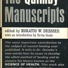 Dresser, Horatio W, editor. The Quimby Manuscripts