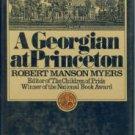 Myers, Robert Manson. A Georgian At Princeton
