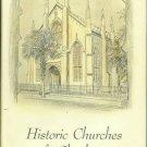 Legerton, Clifford L, compiler. Historic Churches Of Charleston, South Carolina