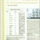 Huler, Scott. Defining The Wind: The Beaufort Scale and How a Nineteenth-Century Admiral