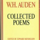 Auden, W. H. Collected Poems