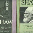 Shaw, George Bernard. Shaw: An Autobiography [2 volumes]
