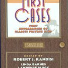Randisi, Robert J., ed. First Cases: First Appearances Of Classic Private Eyes