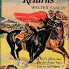 Farley Walter. The Black Stallion Returns