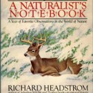 Headstrom, Richard. Memories From A Naturalist's Notebook: A Year Of Favorite Observations