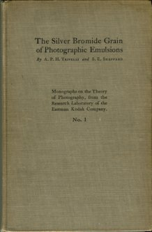 Trivelli, A. P. H, and Sheppard, S.E. The Silver Bromide Grain Of Photographic Emulsions