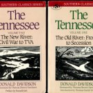 Davidson, Donald. The Tennessee, Volume One, The Old River: Frontier to Secession [with] Volume Two