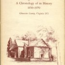 Sinclair, Caroline Baytop. Abingdon Church: A Chronology Of Its History, 1650-1970...