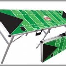 Tailgating Beer Pong Table - Football Field Style - 8 feet