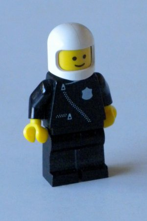 Lego City Mini Figure Police Officer - 1990s
