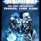 Lego Bionicle Toa Nuva Reconstruct Trading Card Game 2 Player Blue Deck - 2002