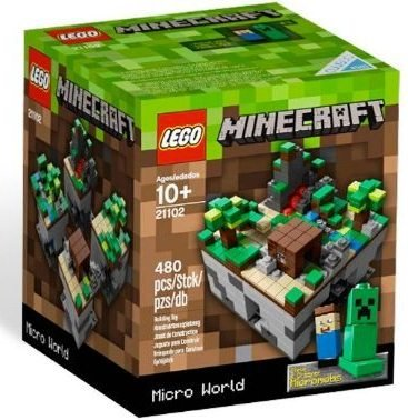 Lego Micro World Minecraft CUUSOO Set #21102 - NEW IN BOX