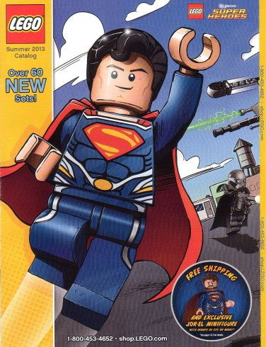 Lego Shop At Home Collectible Catalog Superman Summer 2013 - NEW