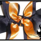 New Orleans Saints : Gold & Black Double Twisted Boutique Hair Bow