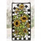 Sunflowers In Bloom Window Panel