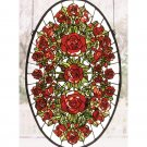 Oval Rose Garden Window