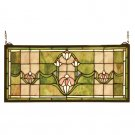 Tulips Transom Window