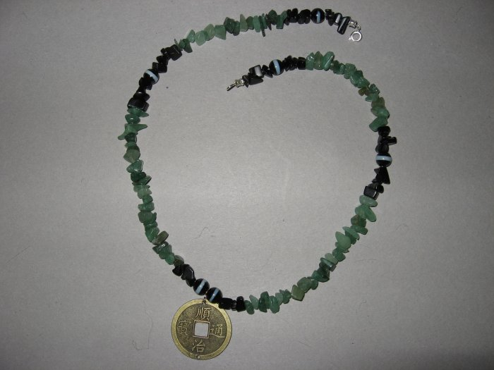 Chinese Coin Necklace - Handmade