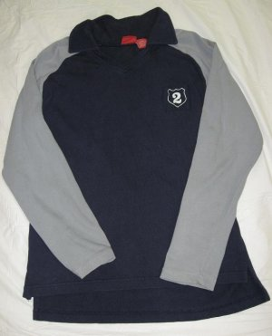 Used - Mossimo Long Sleeve Shirt Pop Collar
