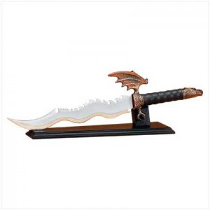 DRAGON SWORD W/DISPLAY STAND