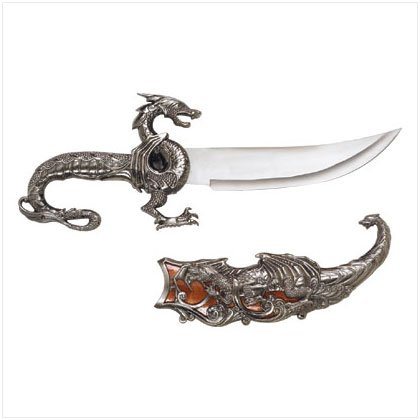 DRAGON DAGGER WITH SHEATH