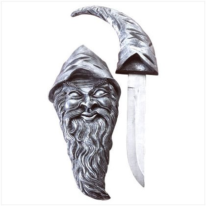 ALAB PEWTER LOOK MERLIN DAGGER