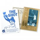 Michael Jordan Career Gold Foil Card - # 2 - The Shot