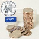 2001 New York Quarter Roll - Philadelphia Mint