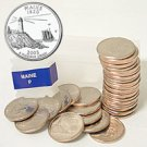2003 Maine Quarter Roll - Philadelphia Mint