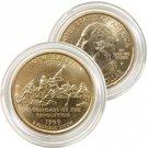 1999 New Jersey 24 Karat Gold Quarter - Philadelphia