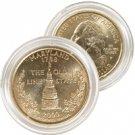 2000 Maryland 24 Karat Gold Quarter - Philadelphia