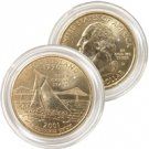 2001 Rhode Island 24 Karat Gold Quarter - Denver