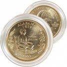 2003 Alabama 24 Karat Gold Quarter - Philadelphia