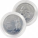 2002 Ohio Platinum Quarter - Philadelphia Mint